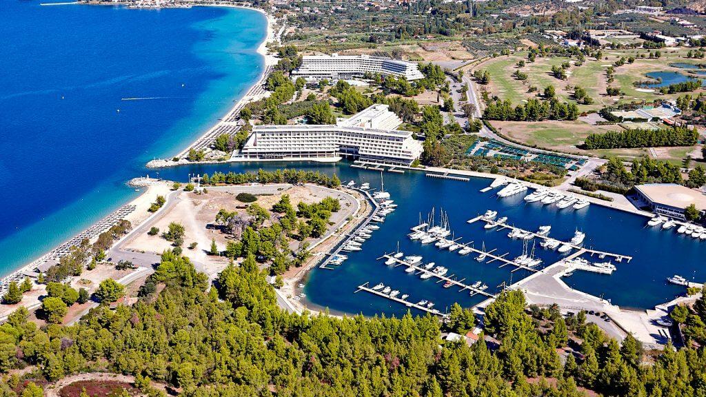 aerial shootings of hotels